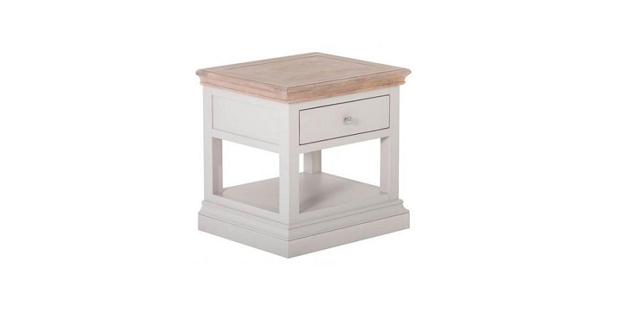 1 Drawer Lamp Table Rosa