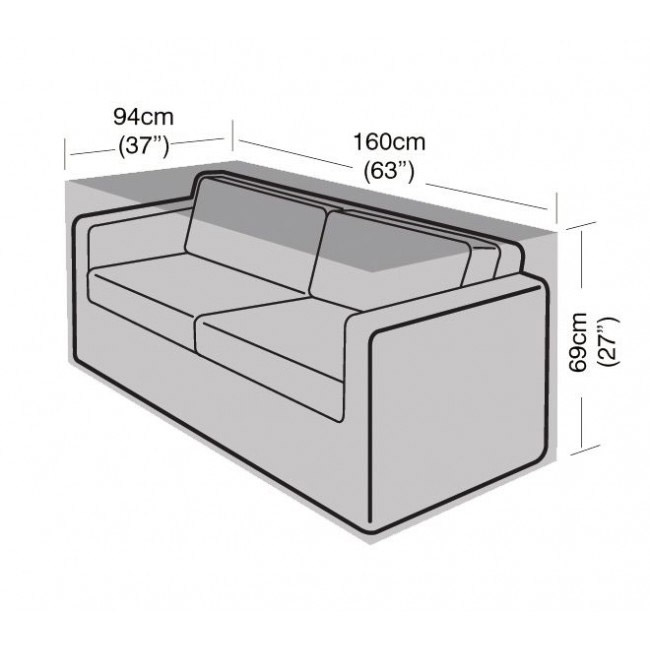 2 Seater Large Sofa Cover