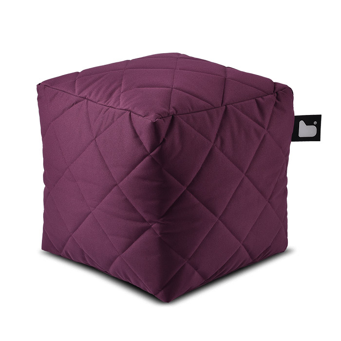 Outdoor Quilted Bean Box - Berry