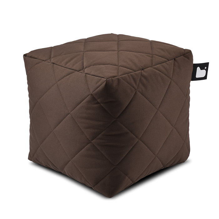 Outdoor Quilted  Bean Box - Brown