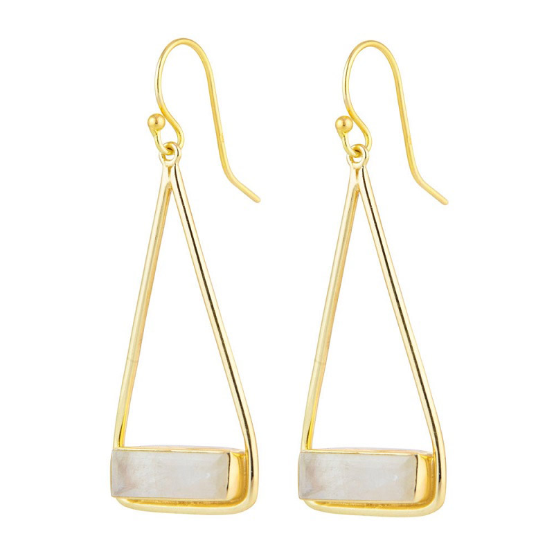 Manhattan Swing Moonstone Earring