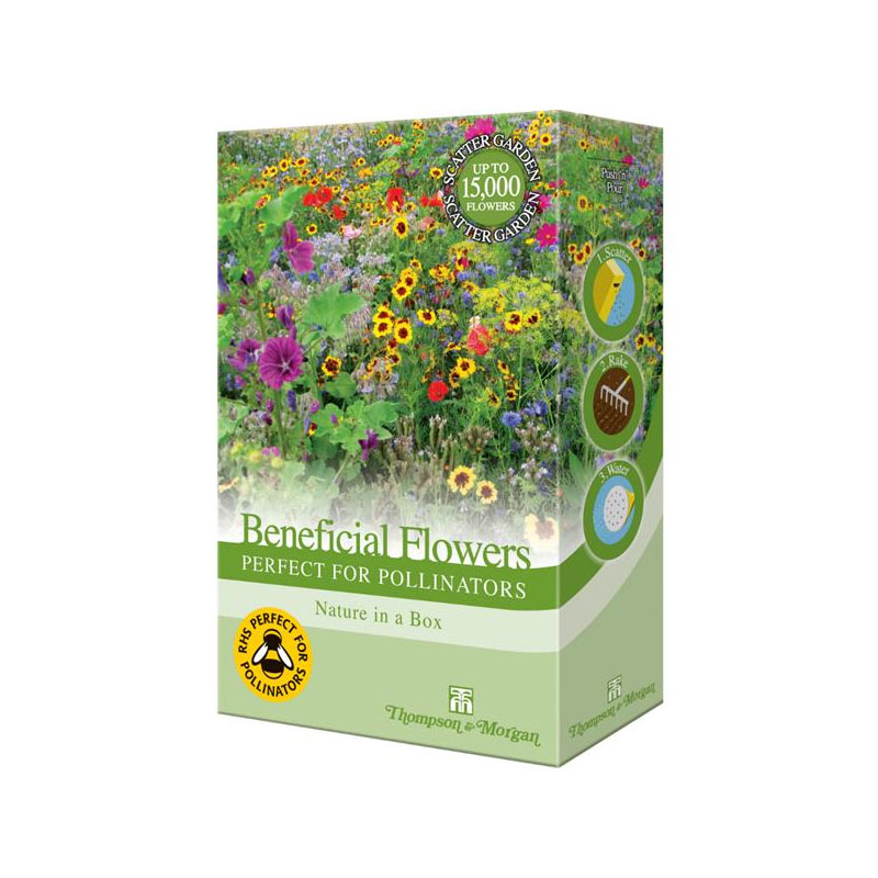 Beneficial Flowers Perfect For Pollinators Mix 200g