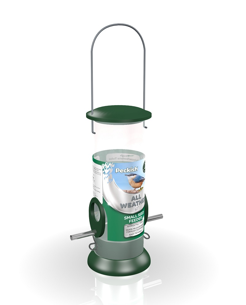 Peckish All Weather Small Seed Feeder
