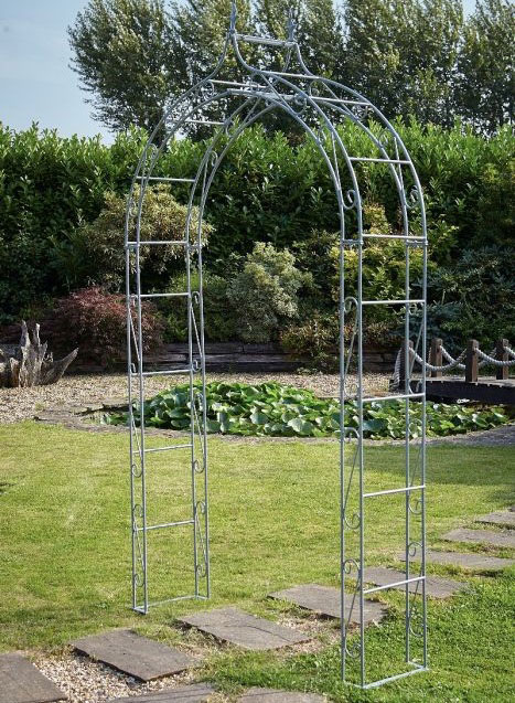 Boutique Garden Arch - Grey