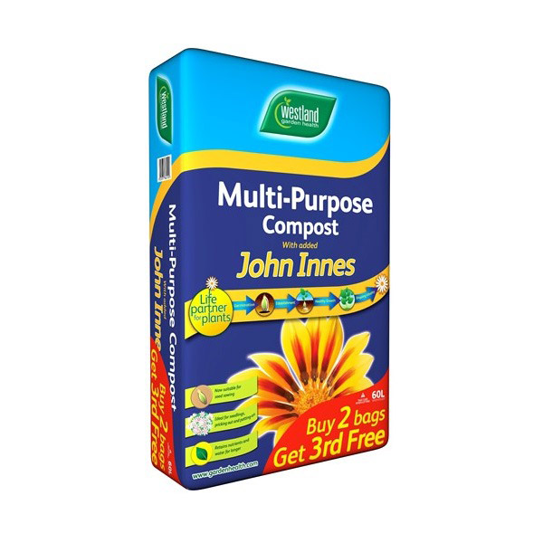 Multi Purpose Compost with John Innes 60ltr