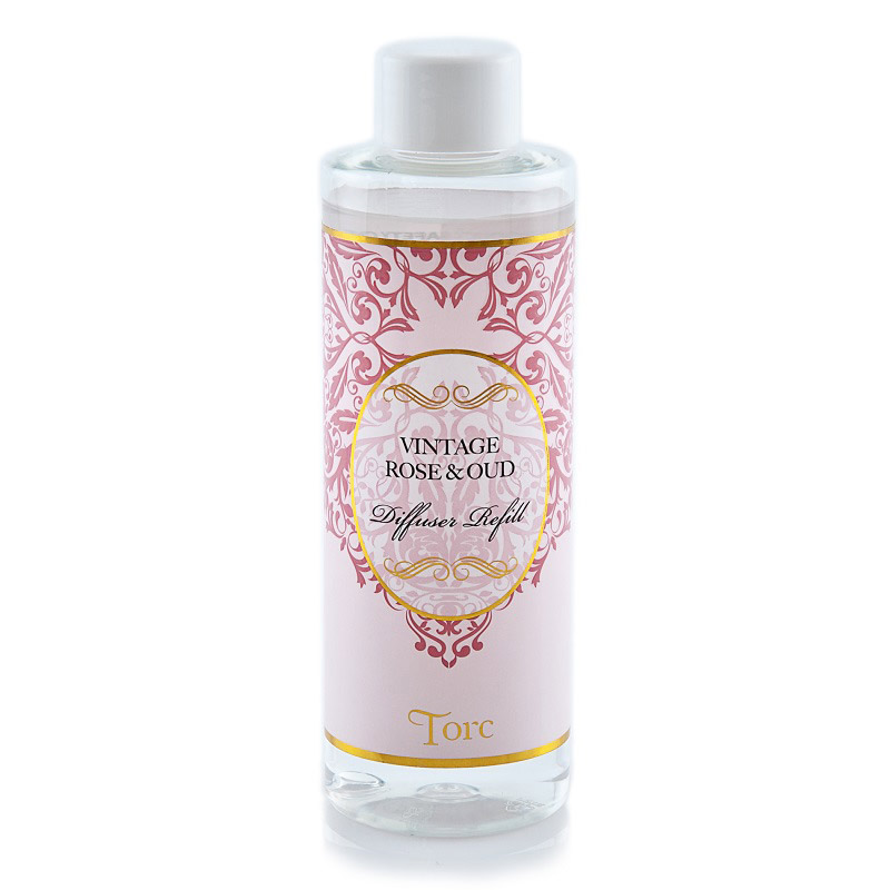 Vintage Rose & Oud Diffuser Refill - 200ml
