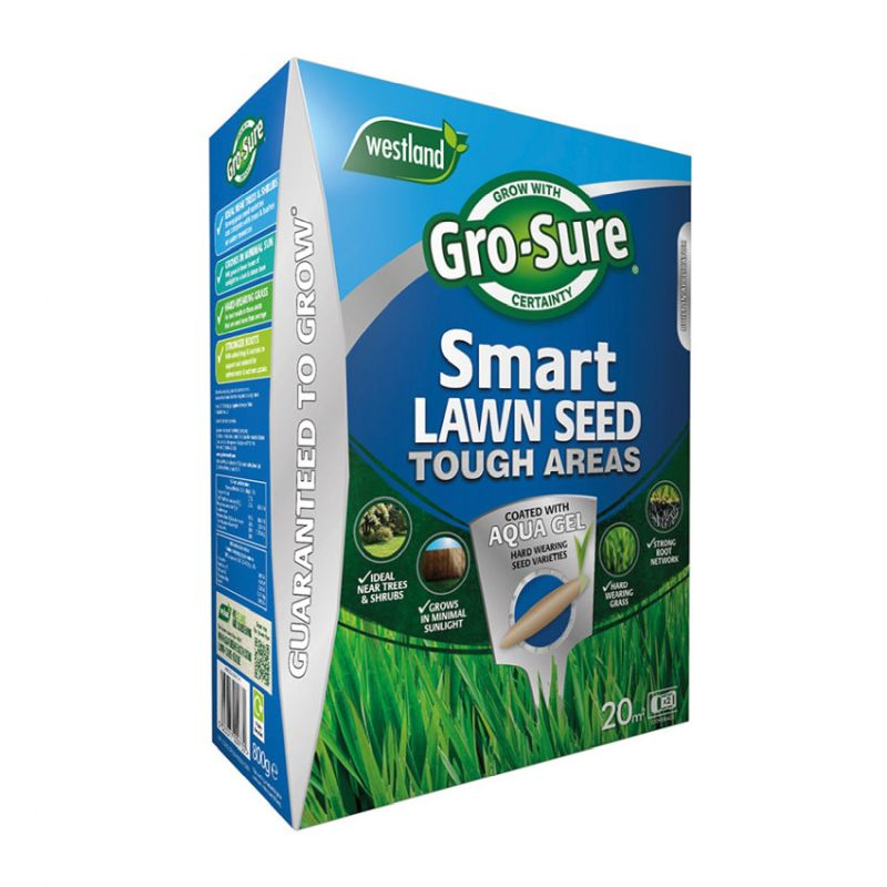 Gro-Sure Smart Seed Tough Areas (Dry & Shady) 20m²