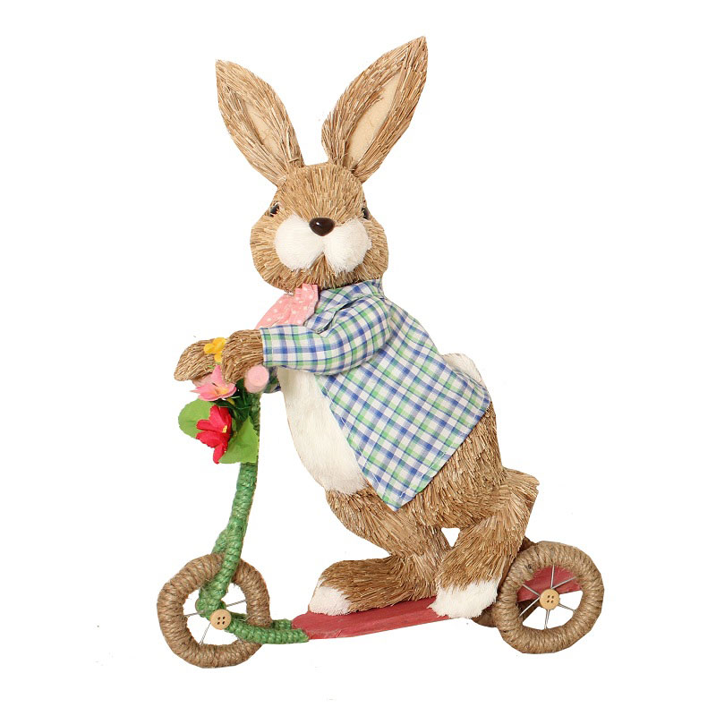 Bunny On Tricycle