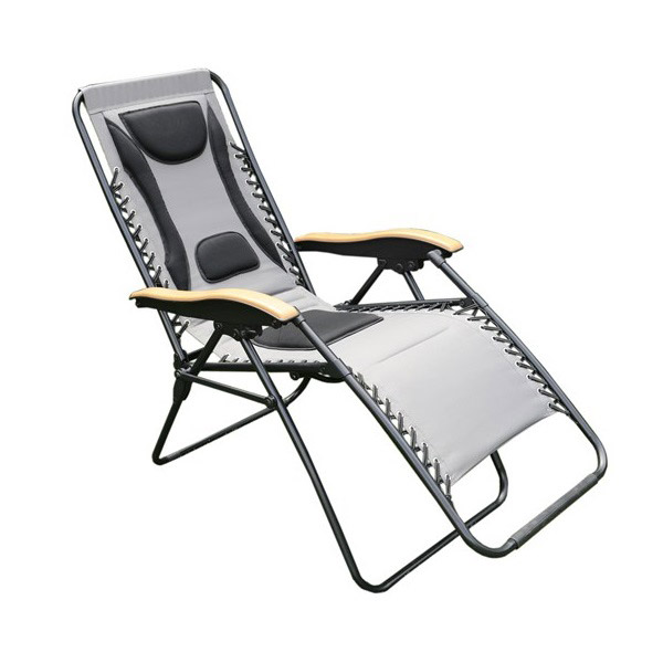Multi-Position Relaxer Chair Grey