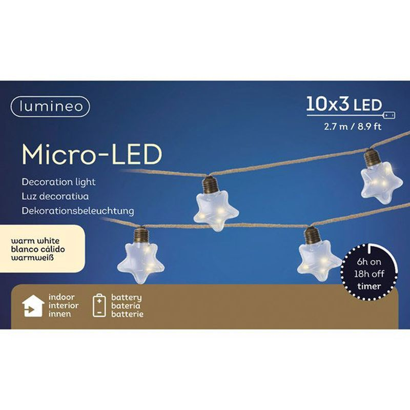Micro LED Star Lights (Warm White)