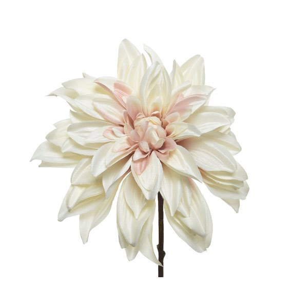 Cream Dahlia on Stem 67cm