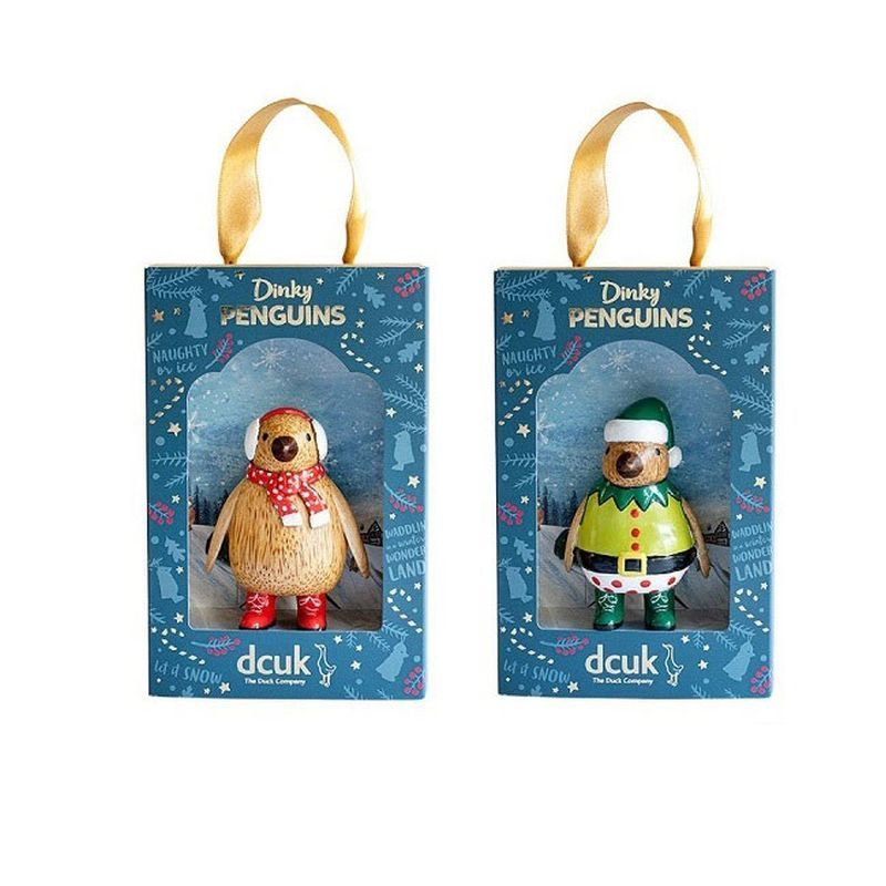Cosy Christmas Dinky Penguins