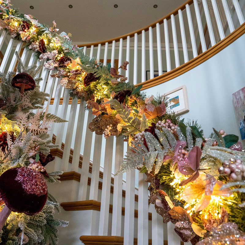 Enchanted Forest Christmas Garland
