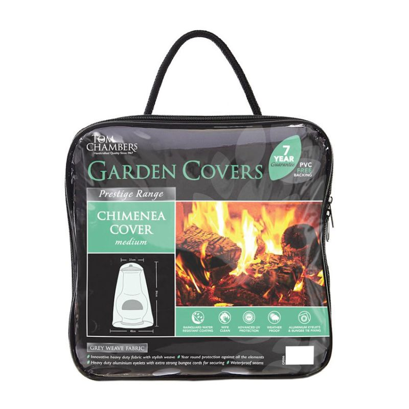 Chimenea Cover - Grey (Medium)