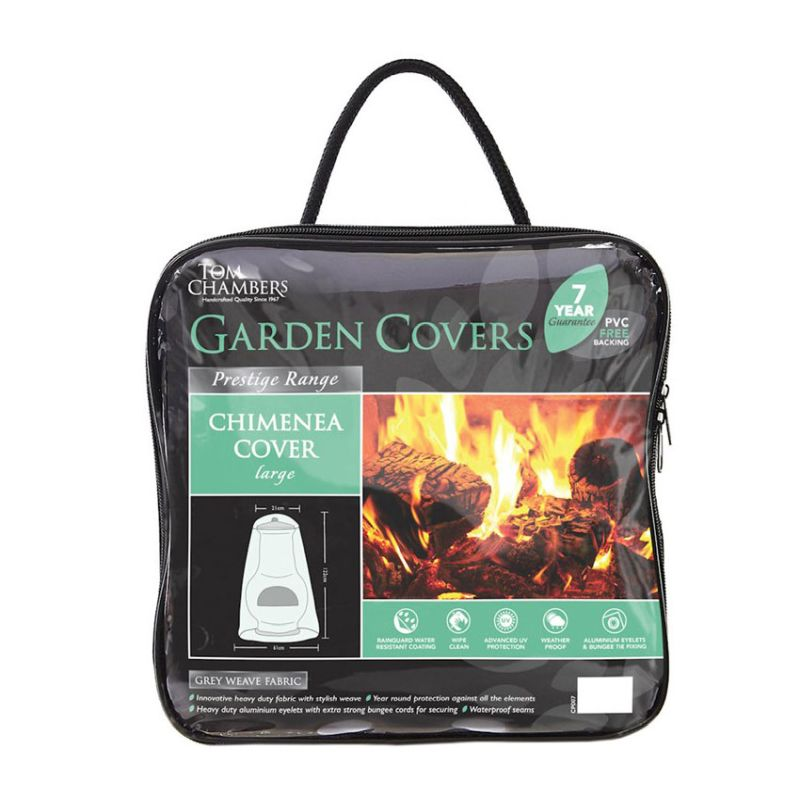 Chimenea Cover - Grey (Large)