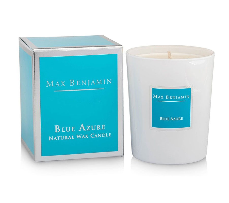 Blue Azure Scented Candle 190g - Fresh