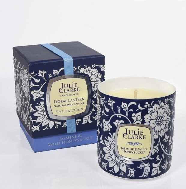 Floral Candle 250g Jasmine and Wild Honeysuckle
