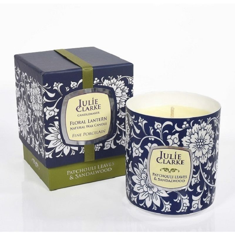 Floral  Candle 250g Patchouli Leaves and Sandalwood
