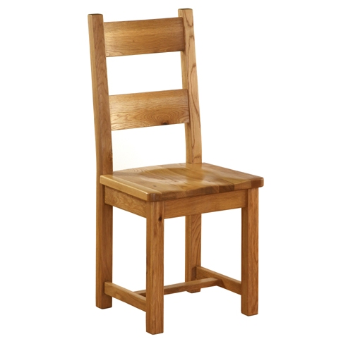 Dining Chair W/Timber Seat Hor