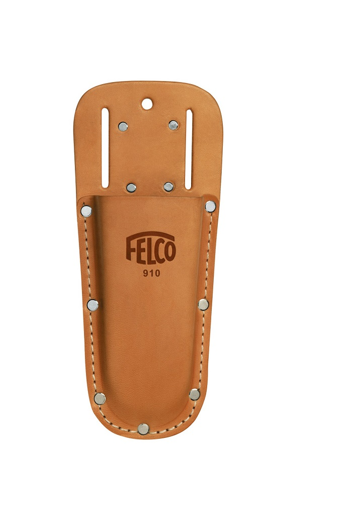 Felco 910 Leather Holster Flat