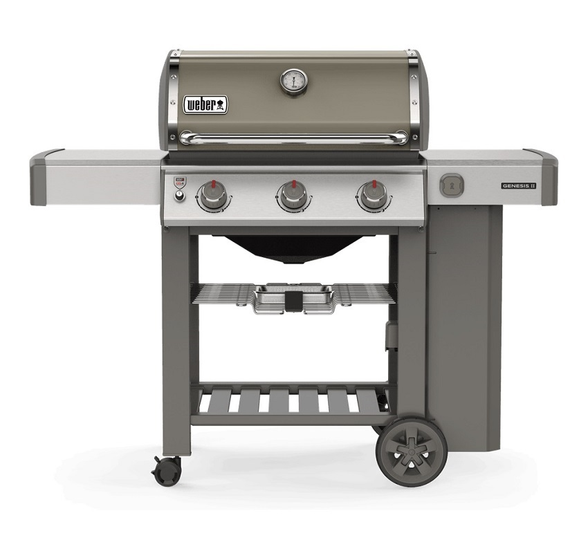 Genesis® II E-310 GBS Gas Barbecue Smoke Grey