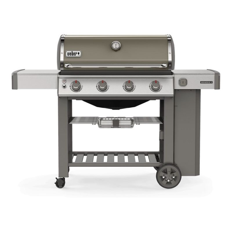 Genesis® II E-410 GBS Gas Barbecue Smoke Grey