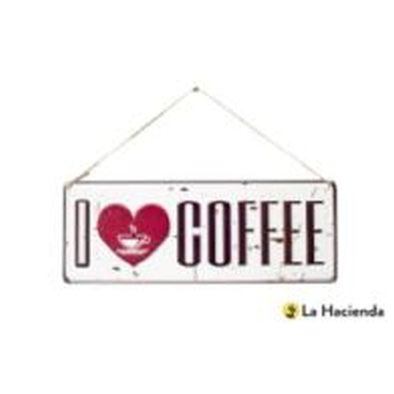 I Love Coffee 15x40cm
