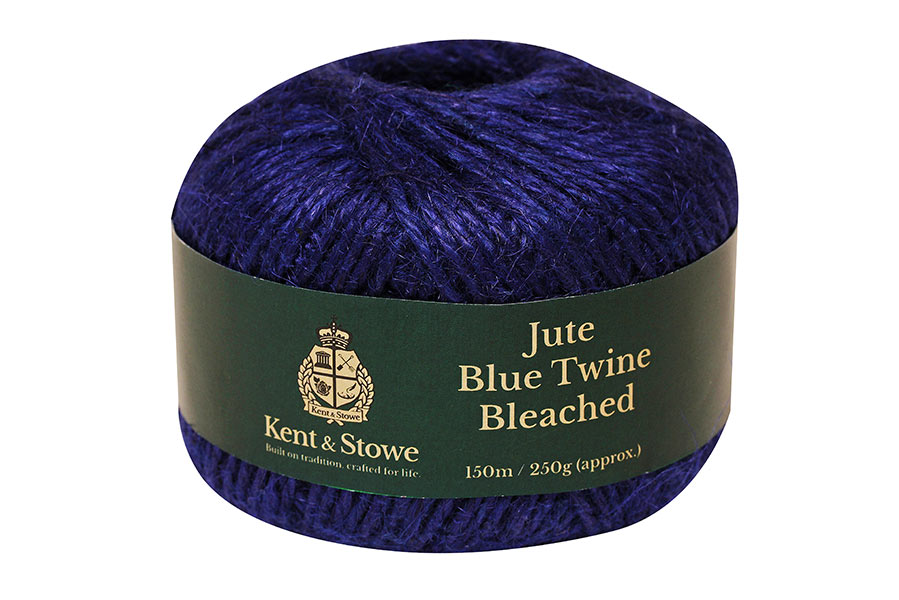 Jute Twine Bleached Blue 150m - 250g