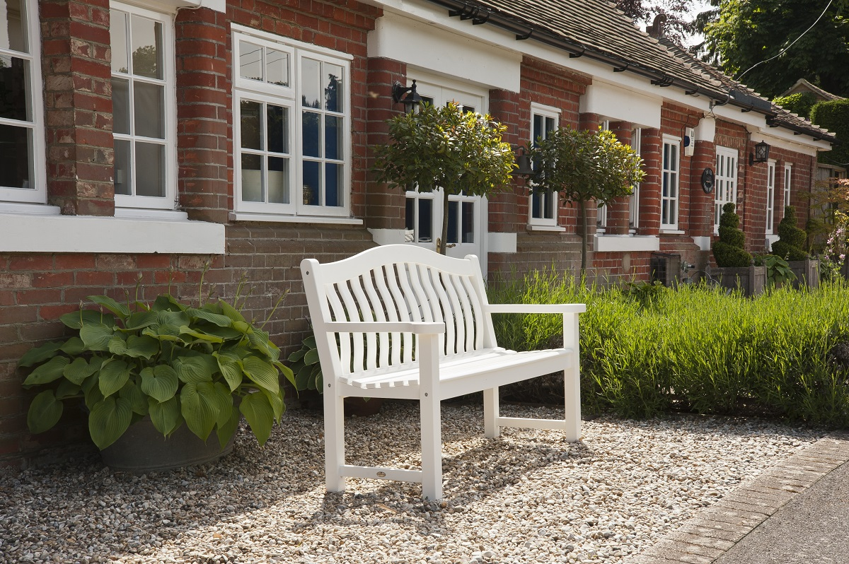 New England Turnberry Bench 5ft White