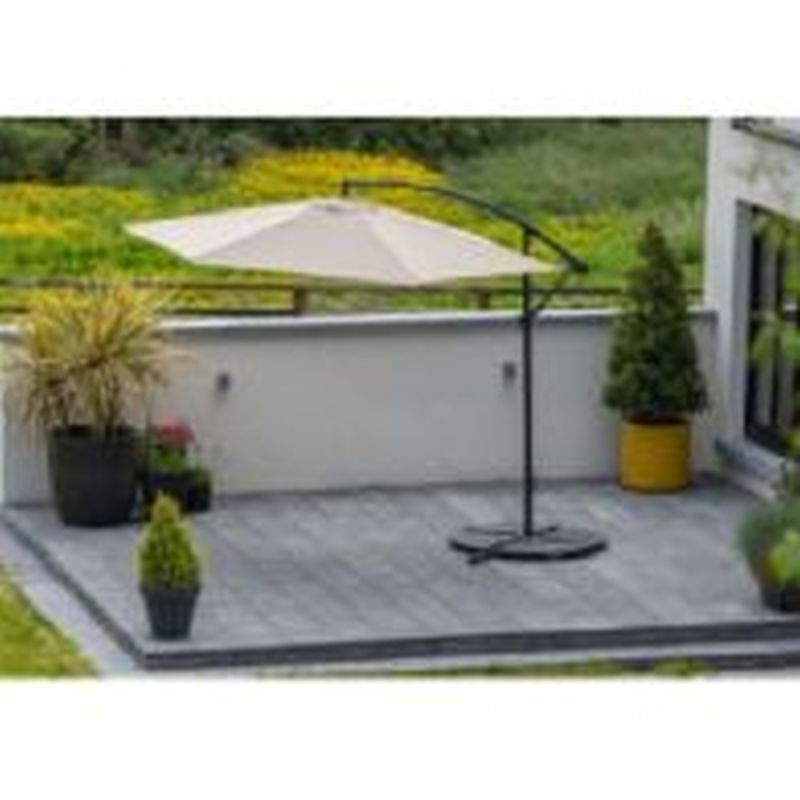Luca 3m Cantilever Parasol Taupe