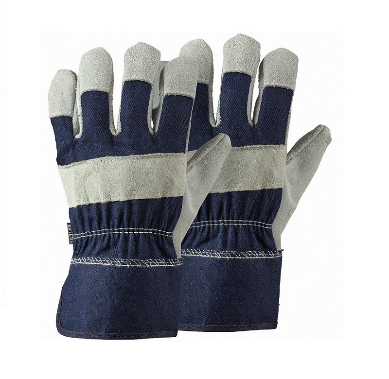 Mens Navy Rigger Gloves Twin Pack