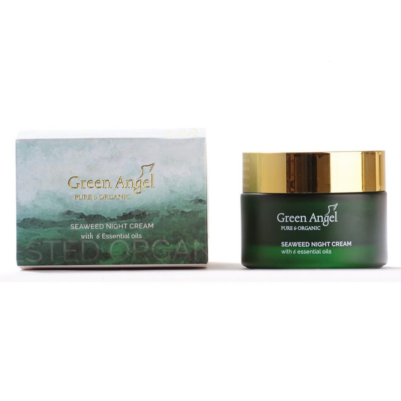 Night Cream Seaweed  6 Essential Oils