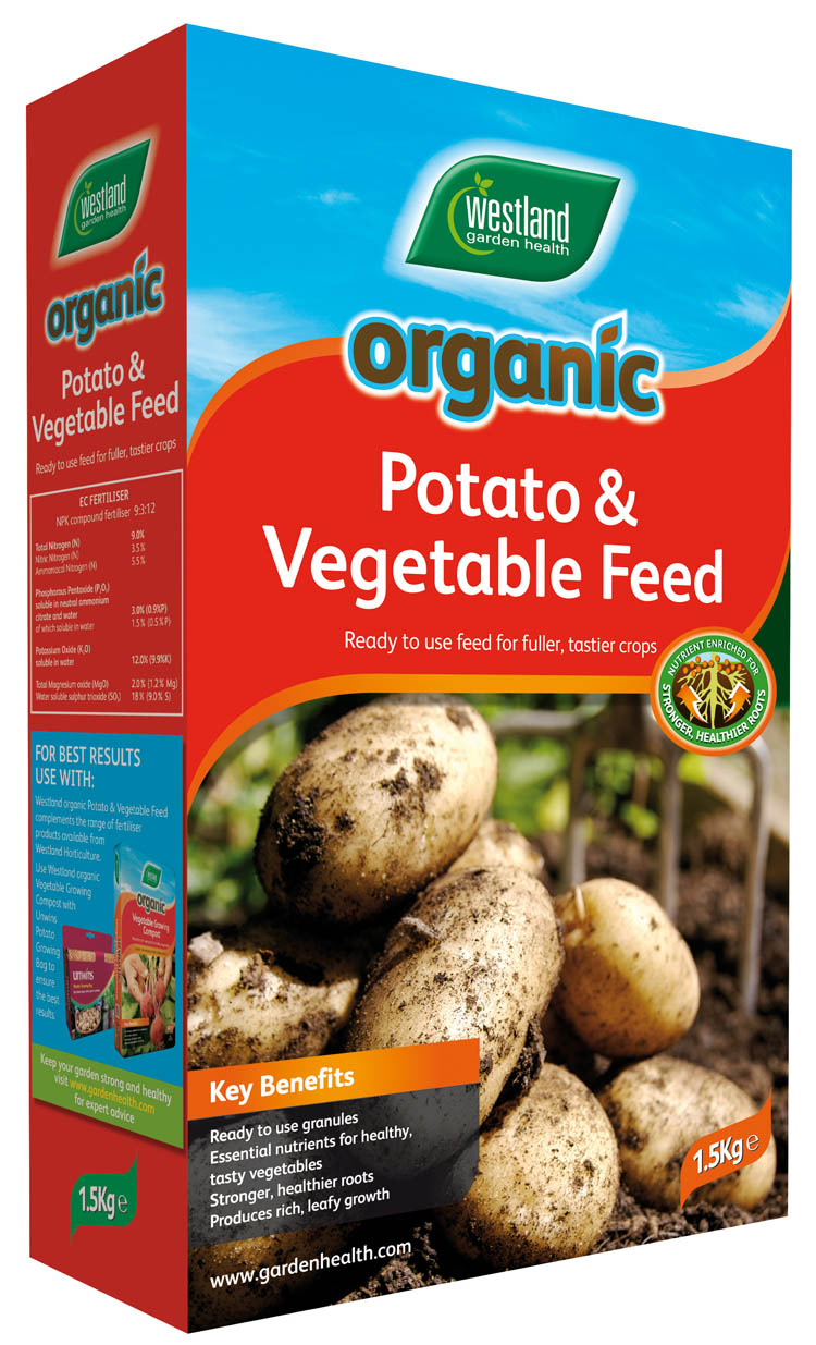 Organic Potato & Vegetable Feed 1.5kg