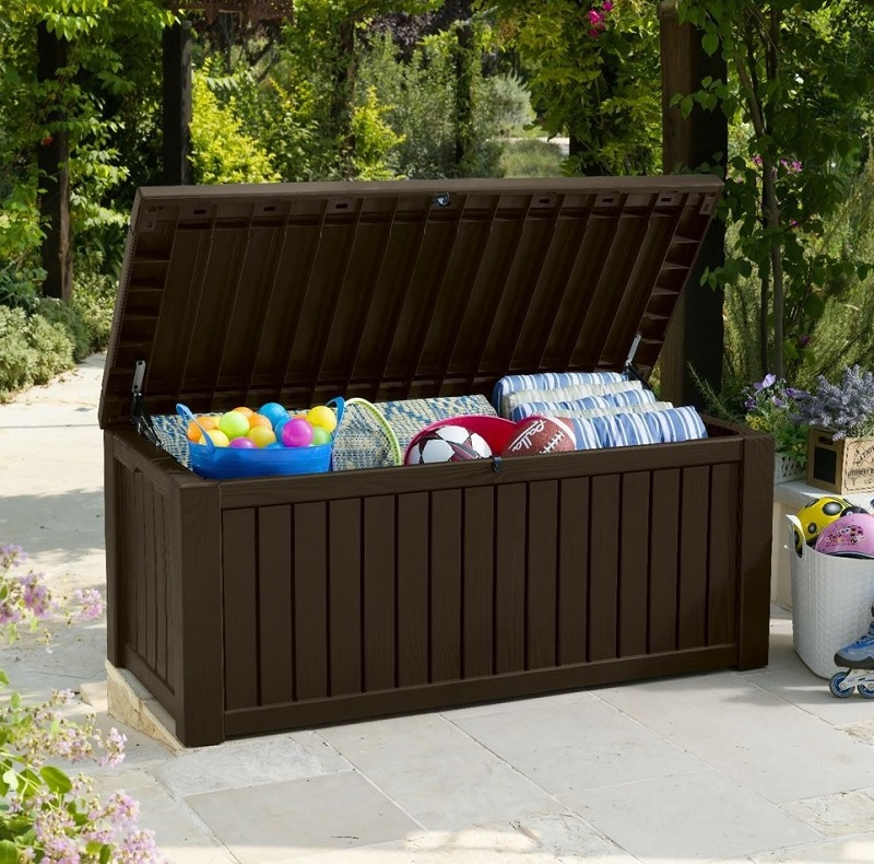 Rockwood Storage Box Brown