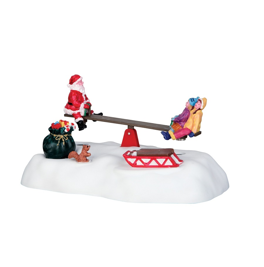 Santa Seesaws Battery Operated 4.5V