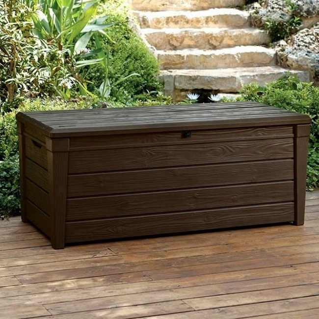 Saxon Storage Box Brown