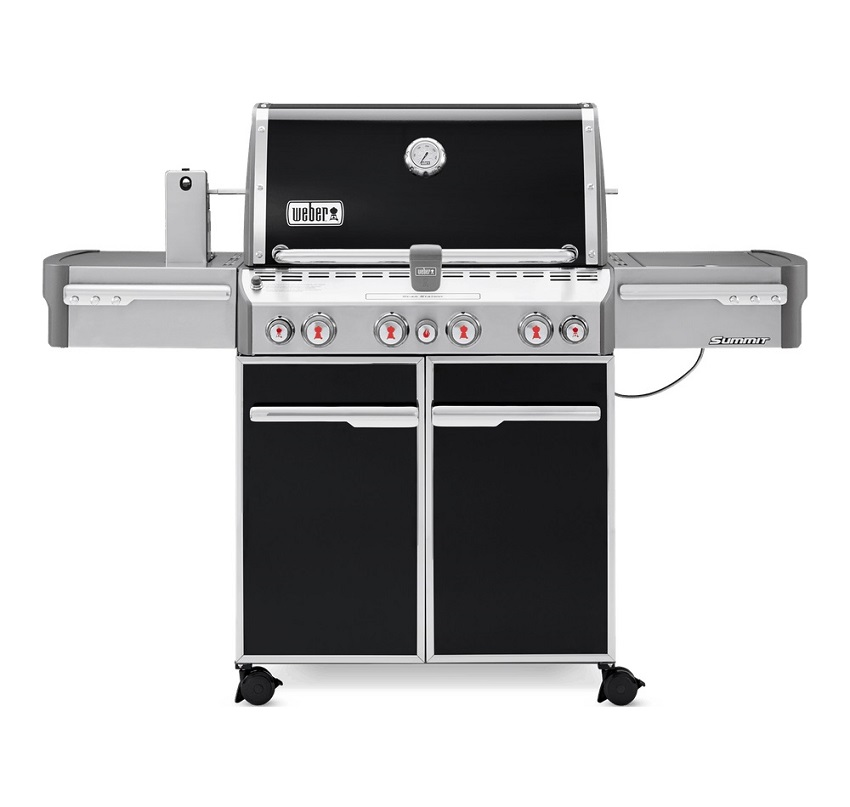 Weber Summit® E-470 GBS Barbecue Black