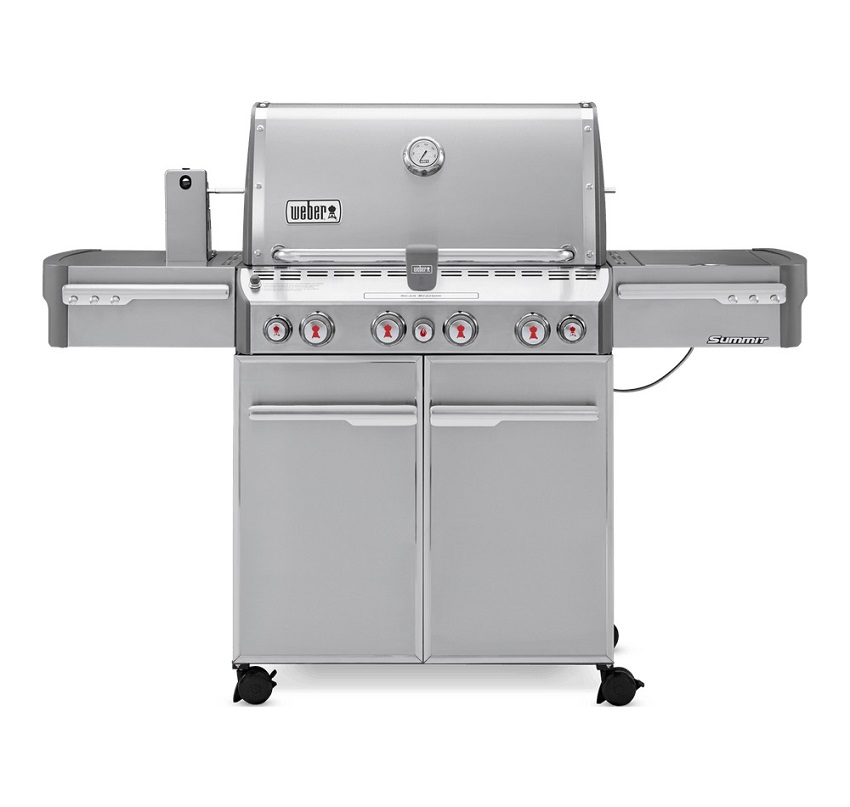 Weber Summit® S-470 GBS Barbecue Stainless Steel