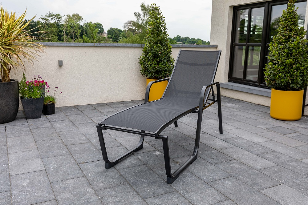 Surf Easy Lounger Iron Grey