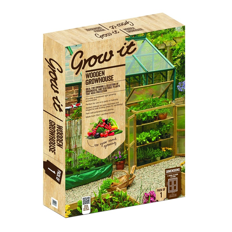 Wooden Growhouse