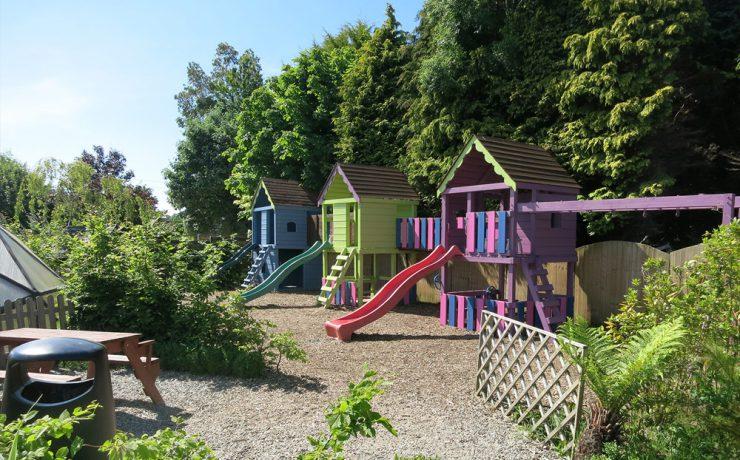 Childrens playground, Arboretum Kilquade