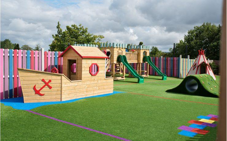 Childrens Playground, Arboretum Leighlinbridge