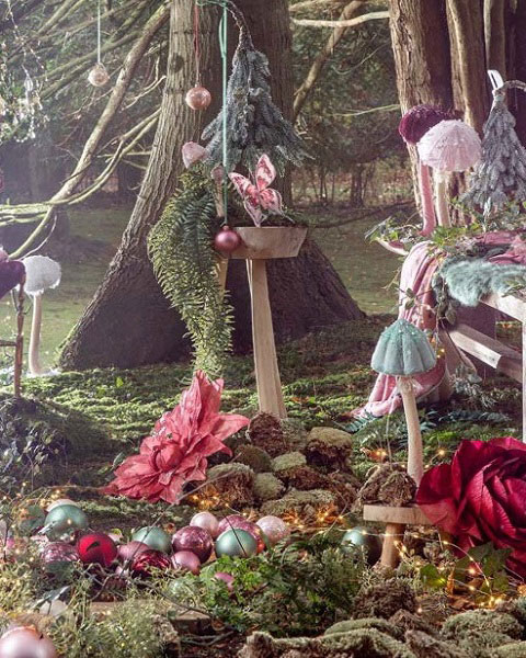 Enchanted Forest Christmas Theme