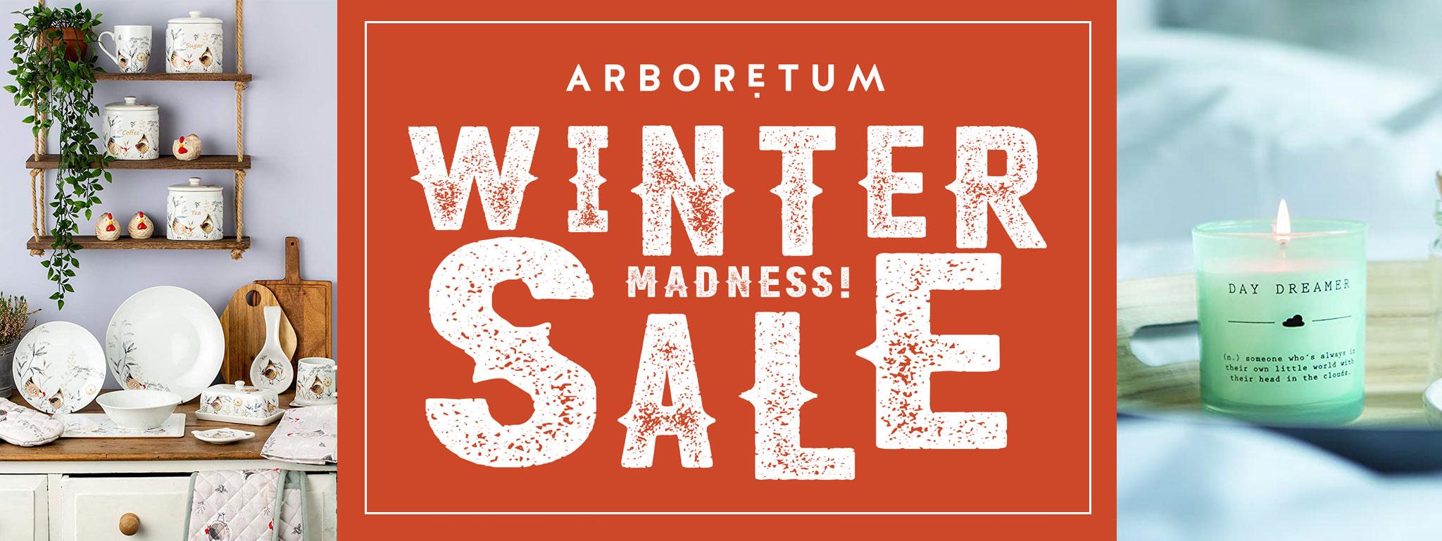 Arboretum Winter Madness Sale