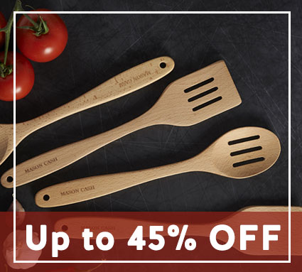 Up to 45% off kitchen accessories