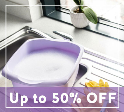 up to 50% off cleaning